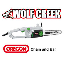 "Electric Chainsaw 16"" Oregon Chain + Bar 2000 Watt motor - easy Q-TENS chain adj"