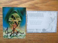 2011 BREYGENT VAMPIRELLA LENTICULAR 3-D CARD #VL-6 SIGNED JOE JUSKO ART,WITH POA