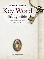 Hebrew-Greek Key Word Study Bible-KJV