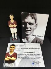 Duncan Edwards Figure Limited Edition 1/99 Munich 60th Anniversary Busby Babes