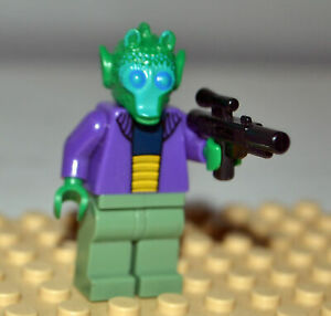 Lego Onaconda Farr 8036 Greedo Star Wars Minifigure AUTHENTIC