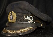 German WWII WW2 Kriegsmarine U-Boat Captain's cap hat U-552