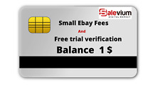 vcc prepaid card for small ebay fee,free trial,payment solution  Balance 1$