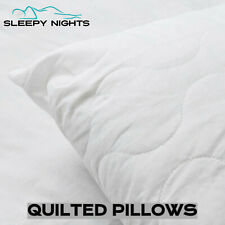 Poly Cotton Pillows Quilted Medium to Firm Support Great Value Super Bounce Back
