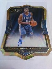 Timothe Luwawu-Cabarrot 2016-17 Select Rookie Scope Die Cut Auto /49 76ers