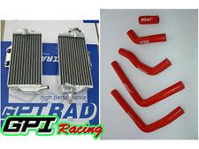 FOR Honda CR125 CR125R CR 125 R CR 125 05 06 07 2005 Aluminum radiator +hose