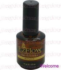 2 X Ez Flow EzFlow Nail system Bonder 0.5oz / 14ml Gel UV Nail Primer