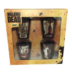 AMC The Walking Dead Daryl Dixon Wings Shot Glass Set Official Merchandise