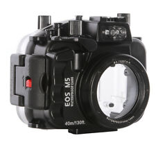 40m/130ft Underwater Camera Diving Housing Case  for Canon EOS M5 22mm Lens New