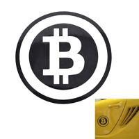 Large Bitcoin Cryptocurrency Blockchains freedom sticker vinyl car window decals