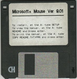 Microsoft Mouse Ver. 9.01 ~ 3.5 disk