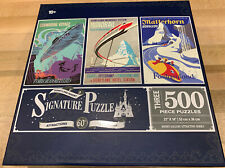 Disney Parks Disneyland Resort Signature Puzzle Attraction 60th Anniversary New!