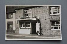 R&L Photo Card (Plain Back) Unknown Butchers Shop R.Cook