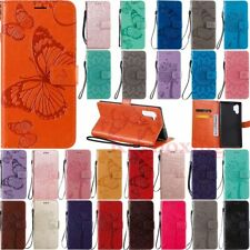 For Samsung Note 20 Ultra 10 9 8 S20 Plus Wallet Card Holder Leather Case Cover