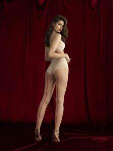 Back Seam Patterned Fashion Pantyhose Unique  20 Denier Seamed Matte Tights