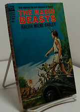 The Radio Beasts by Ralph Milne Farley -  Ace F-304 - First edition