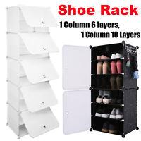 Door Cube DIY Shoe Cabinet Rack Storage Portable Stackable Organiser Stand