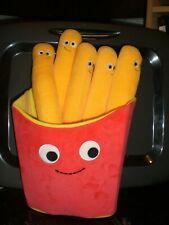 Yummy World Fernando the Fries French Food Large Plush Stuffed Toy EUC RETIRED