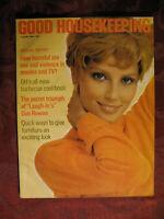 GOOD HOUSEKEEPING magazine August 1969 Dan Rowan Richard Lockridge Hugh Cave