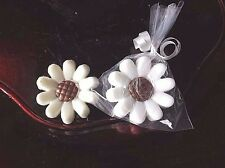 20 Daisy Flower Party Favor Soap Birthday Wedding Shower Guest Vegan Novelty