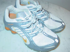2007 Nike Shox Navina+ White/Orange Peel/Stealth Running Shoes Size 7 $160.00