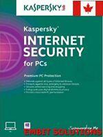 Kaspersky Internet Security 2018 2019 1 PC / 1 Year / Download Global key