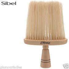 Sibel Eterna Wooden Neck Hair Brush For Barber Hairdressing Natural Bristles