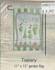 """Home Decor Garden Flag (Topiary) 11""""x15"""""""