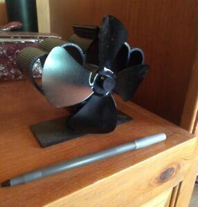 Wood Stove Fan - Heat Powered