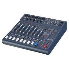 Studiomaster Club XS10 - 10 Input Live Mixer With USB and Bluetooth DJ Duo Mixer