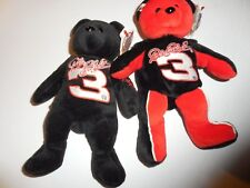 DALE EARNHARDT TEAM SPEED BEARS WITH TAGS
