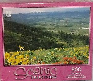 Hasbro Puzzle Hood River Valley Oregon 500 Pcs NEW Unopened Vtg 2002