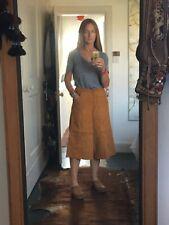 Vintage 70's Tan Suede Culottes 8-10