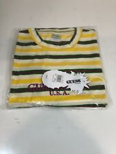 Guess Jeans Sean Wotherspoon Farmers Market Striped T-Shirt Multi-Color M