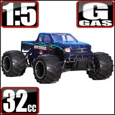 Redcat Racing Rampage MT V3 1/5 Scale Gas 4WD RC Monster Truck Green/Flame NEW
