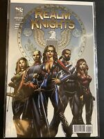 Realm Knights #1 Cover A Grimm Fairy Tales Zenescope Variant