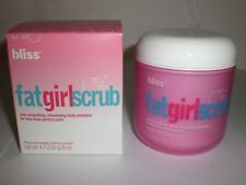 BLISS FAT GIRL SCRUB SKIN-SMOOTHING STIMULATING BODY EXFOLIATOR 8.0oz NEW IN BOX