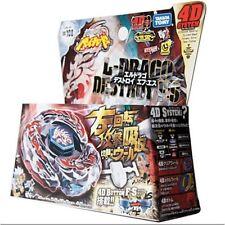 TAKARA TOMY JAPAN BEYBLADE METAL FUSION BB-108 L Drago Destroy F:S 4D+Launcher