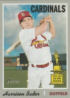 2019 TOPPS HERITAGE ALL STAR ROOKIE HARRISON BADER #282 ST. LOUIS CARDINALS