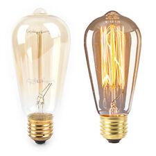 retro lampada st64 vintage edison lampadina e27 lampadina a incandescenza WQI