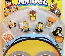 Minions Mineez Series 1 Despicable Me 6 pk ~ Agnes Luau Tiki Baby Jail Picketing