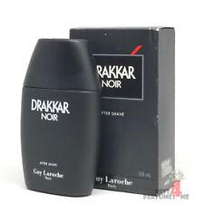 Drakkar Noir After Shave (Splash) by Guy Lacroche 100 ml 3.4 oz (Box Old)