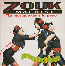 "7"" 45 TOURS FRANCE ZOUK MACHINE ""Maldon / Lanmou Soley"" 1989"