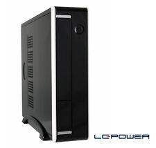LC-Power - Mini-ITX-Gehäuse LC-1360II mit 90W-Netzteil und 2x USB 3.0