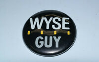 "VINTAGE COLLECTIBLE WYSE COMPUTER ""WYSE GUY"" BUTTON PIN"