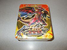 Konami Shonen Jump Yu-Gi-Oh! Red Nova Dragon trading card game tin box only