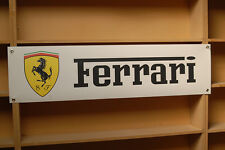 Ferrari BANNER Car Workshop Garage pvc Display sign