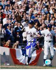 RUSTY STAUB  NEW YORK METS   ACTION SIGNED 8x10