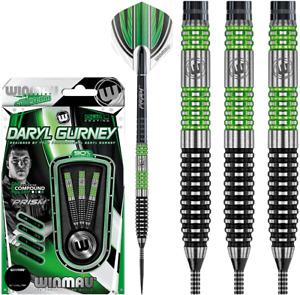 Winmau Daryl Gurney 90% Tungsten 26 Gram Steel Tip Darts 1422.26