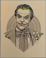Tyler Stout Joker LE Handbill Batman Mini Movie Poster Print Mondo Pros & Cons
